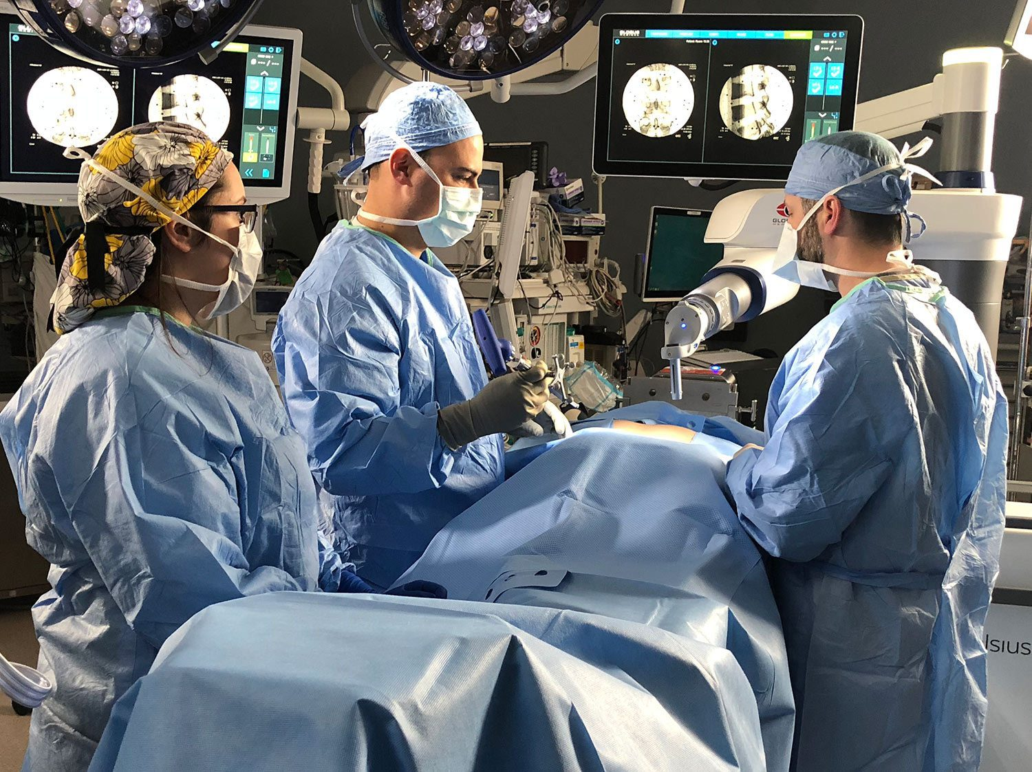 Robotic Spine Surgery - Louisiana Orthopaedic Specialists